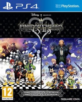 Copertina del gioco Kingdom Hearts HD 1.5 + 2.5 ReMIX per Playstation 4