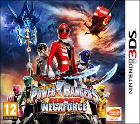 Copertina del gioco Power Rangers Super Megaforce per Nintendo 3DS