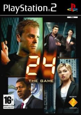 Copertina del gioco 24: the game per Playstation 2