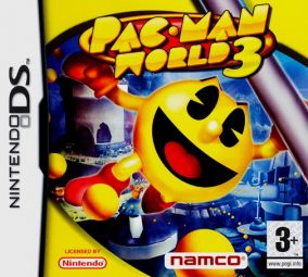 Copertina del gioco Pac-Man World 3 per Nintendo DS