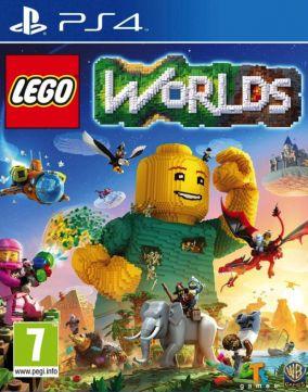 Immagine della copertina del gioco LEGO Worlds per Playstation 4