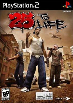 Copertina del gioco 25 To Life per Playstation 2