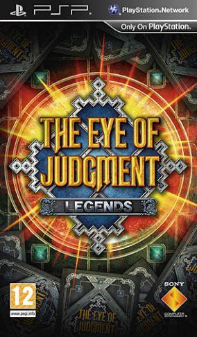 Immagine della copertina del gioco The Eye of Judgment: Legends per Playstation PSP