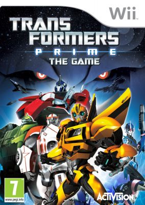 Copertina del gioco Transformers Prime per Nintendo Wii