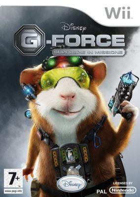 Copertina del gioco G-Force per Nintendo Wii
