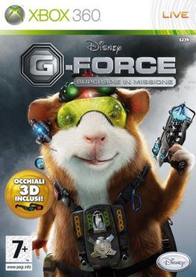 Copertina del gioco G-Force per Xbox 360