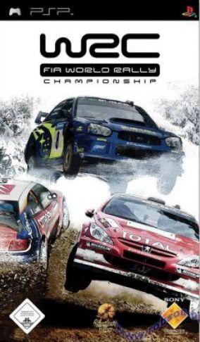 Immagine della copertina del gioco WRC World Rally Championship per Playstation PSP