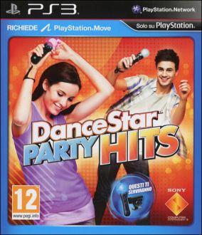 Copertina del gioco DanceStar Party Hits per Playstation 3