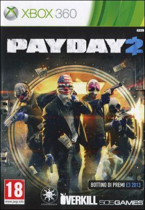 Immagine della copertina del gioco Payday 2 per Xbox 360