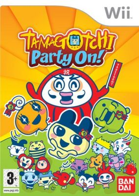 Copertina del gioco Tamagotchi: Party On! per Nintendo Wii