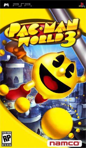 Copertina del gioco Pac-Man World 3 per Playstation PSP