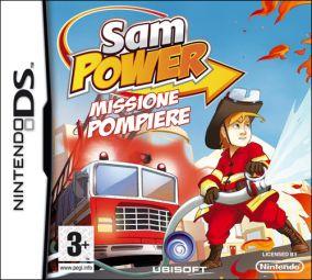 Copertina del gioco Sam Power: Missione Pompiere per Nintendo DS