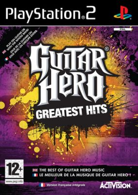 Copertina del gioco Guitar Hero: Greatest Hits per Playstation 2