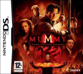 Copertina del gioco La Mummia: La Tomba dell'Imperatore per Nintendo DS