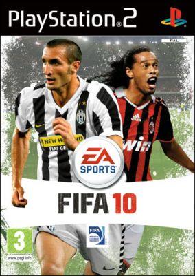 Copertina del gioco FIFA 10 per Playstation 2