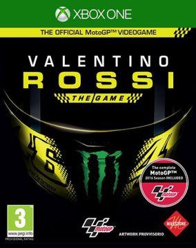 Copertina del gioco Valentino Rossi The Game per Xbox One
