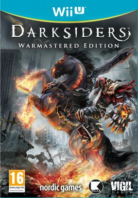 Copertina del gioco Darksiders: Warmastered Edition per Nintendo Wii U