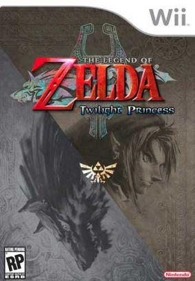 Immagine della copertina del gioco The Legend of Zelda: Twilight Princess per Nintendo Wii