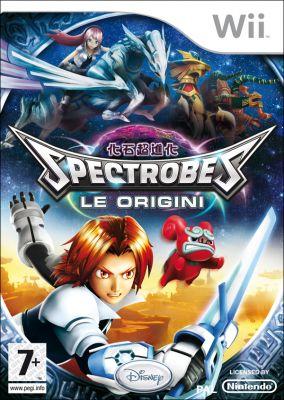 Immagine della copertina del gioco Spectrobes: Le origini per Nintendo Wii