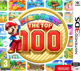 Copertina del gioco Mario Party: The Top 100 per Nintendo 3DS