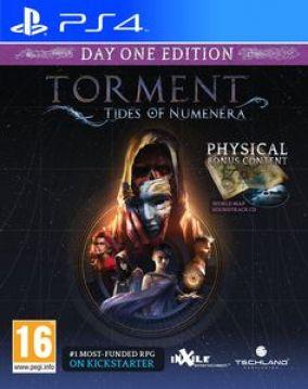 Copertina del gioco Torment: Tides of Numenera per Playstation 4