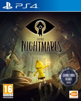 Copertina del gioco LITTLE NIGHTMARES per Playstation 4