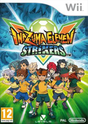 Immagine della copertina del gioco Inazuma Eleven Strikers per Nintendo Wii