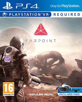 Immagine della copertina del gioco Farpoint per Playstation 4