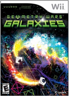 Copertina del gioco Geometry Wars: Galaxies per Nintendo Wii