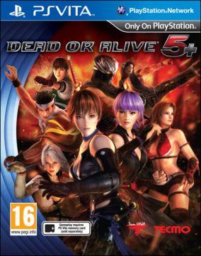 Copertina del gioco Dead or Alive 5 Plus per PSVITA