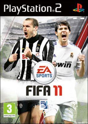 Copertina del gioco FIFA 11 per Playstation 2