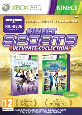 Copertina del gioco Kinect Sports Ultimate Collection per Xbox 360