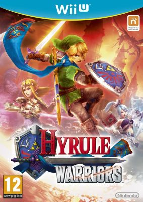 Copertina del gioco Hyrule Warriors per Nintendo Wii U