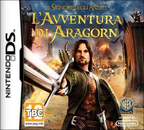 Immagine della copertina del gioco Il Signore degli Anelli: L'Avventura di Aragorn per Nintendo DS
