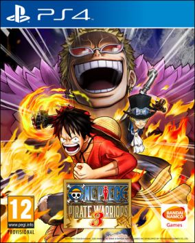 Copertina del gioco One Piece: Pirate Warriors 3 per Playstation 4