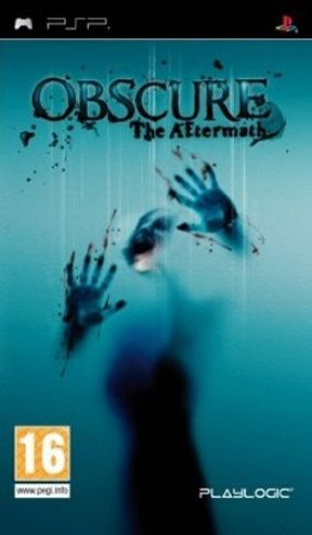Copertina del gioco Obscure: The Aftermath per Playstation PSP