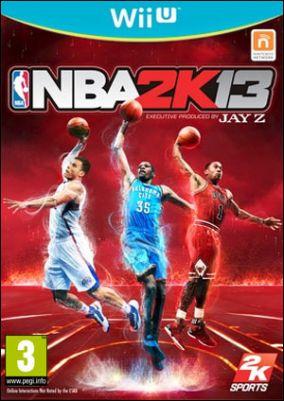 Immagine della copertina del gioco NBA 2K13 per Nintendo Wii U