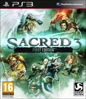 Copertina del gioco Sacred 3 per Playstation 3