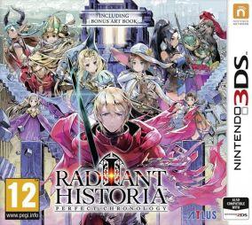 Copertina del gioco Radiant Historia: Perfect Chronology per Nintendo 3DS