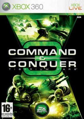 Immagine della copertina del gioco Command & Conquer 3 Tiberium Wars per Xbox 360