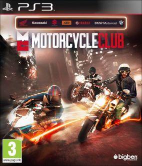 Copertina del gioco Motorcycle Club per Playstation 3