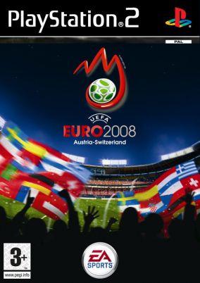 Copertina del gioco UEFA Euro 2008 per Playstation 2
