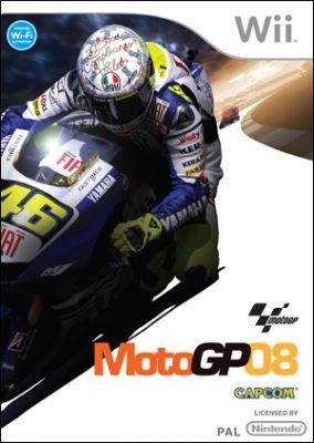 Immagine della copertina del gioco MotoGP 08 per Nintendo Wii