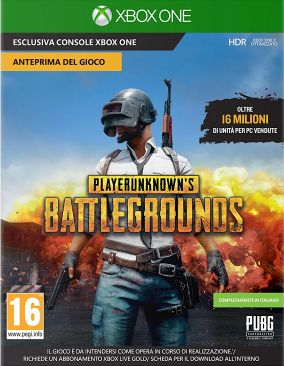 Copertina del gioco PlayerUnknown's Battlegrounds per Xbox One