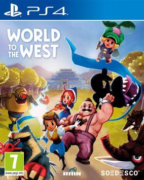 Copertina del gioco World to the West per Playstation 4