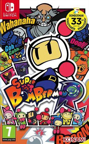 Copertina del gioco Super Bomberman R per Nintendo Switch