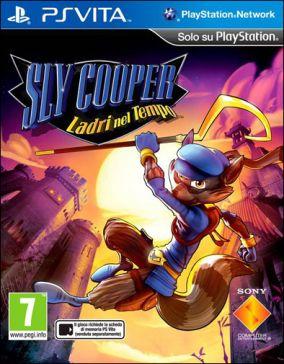 Copertina del gioco Sly Cooper: Ladri nel Tempo per PSVITA