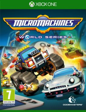 Copertina del gioco Micro Machines: World Series per Xbox One