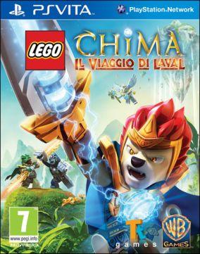 Copertina del gioco LEGO Legends of Chima: Il Viaggio di Laval per PSVITA