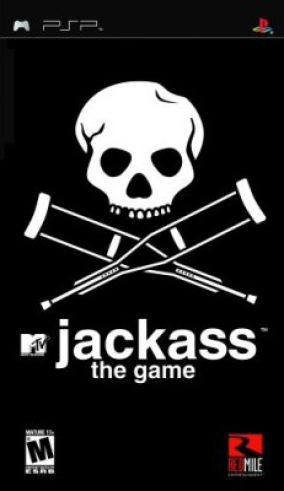 Copertina del gioco Jackass the Game per Playstation PSP